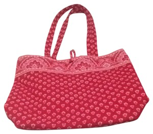 Vera Bradley Tote in Nantucket Red