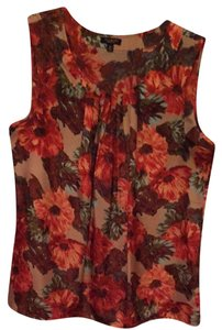 Talbots Top Floral
