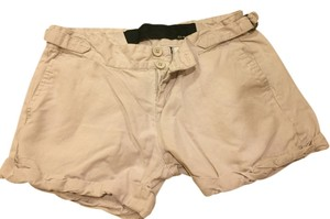 JOE'S Summer Double Buttons Shorts Beige