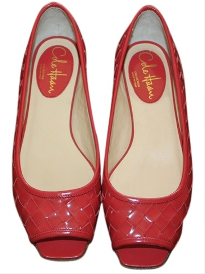 Cole Haan Pinkish-red Flats