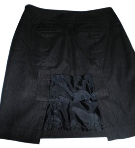 Ann Taylor LOFT Skirt Black denim
