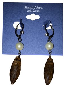 Simply Vera Vera Wang Faux Pearl And Bead Earrings