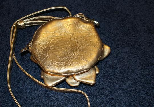 Other Removable Strap gold Clutch