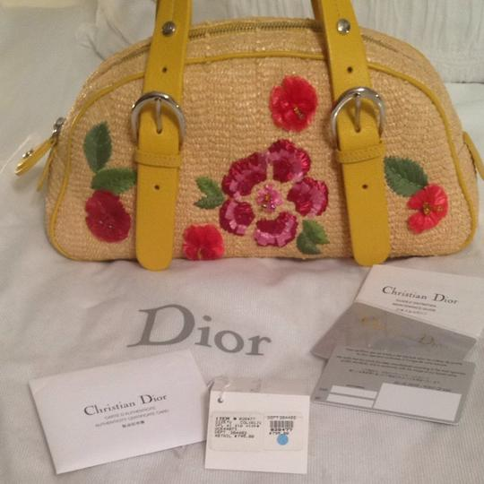 Dior Satchel in Natural