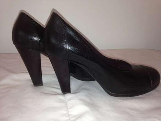 Jil Sander Black Pumps