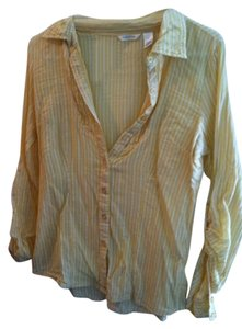 Maurices Button Down Shirt Variety Blue Yellow Pink Green