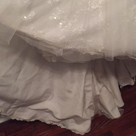 Mori Lee Cream Style 4907 Sexy Wedding Dress Size 4 (S)