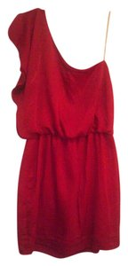 City Triangles short dress Red on Tradesy