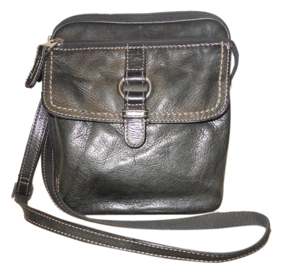 6bee3d0ae24a8b Fossil Leather Organizer Ogc Cross Body Bag Image 0 ...