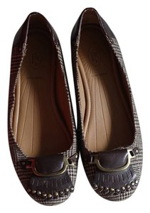 Circa Joan & David Brown tweed Flats