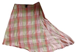 Parallel Skirt Pink