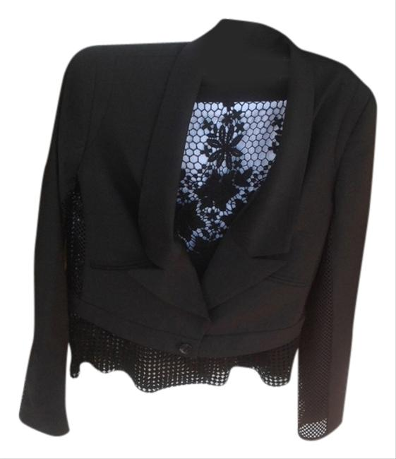 L.A.M.B. jacket with see through sides