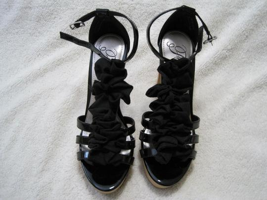 Fergie Black Platforms