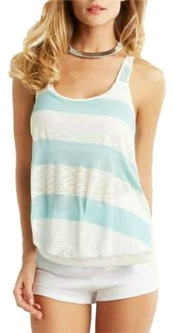 Preload https://item1.tradesy.com/images/tart-collections-mintwhite-tank-topcami-size-4-s-3753805-0-0.jpg?width=400&height=650