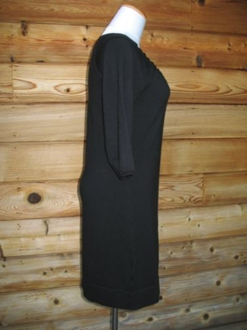 Ann Taylor short dress Black Wool Blend Sweater 3/4 Sleeve New on Tradesy