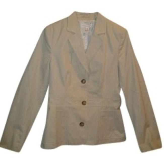 Preload https://item5.tradesy.com/images/banana-republic-beige-bold-blazer-button-down-top-size-8-m-37539-0-0.jpg?width=400&height=650