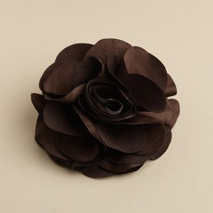 Mariell Brown Silk Flower Hair Clip Or Pin 3458h-es