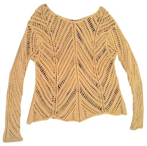 Worth Cotton Crochet Sweater