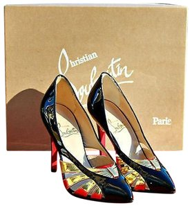 Christian Louboutin Red Bottoms Comes With Box Black Pumps