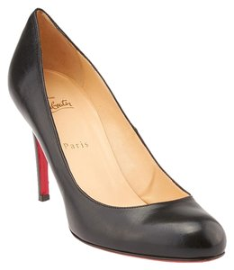 Christian Louboutin Simple 85 Leather Pump Black Pumps