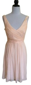 J.Crew Soft Peach Heidi J Crew Dress