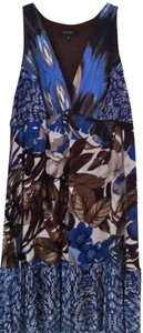 Karen Kane short dress Blues and Browns Sale on Tradesy