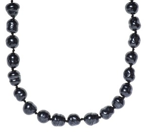 Chanel Chanel Vintage Dark Pearl Necklace