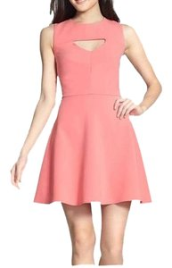 French Connection Wedding Guest Graduation Keyhole Dress