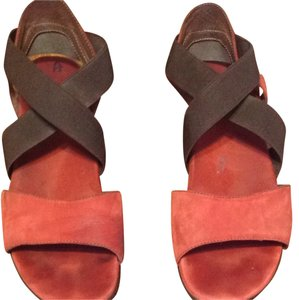 Murano Brown/Brick Sandals