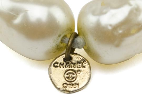 Chanel Chanel Faux Pearl Necklace