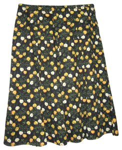 DLG Skirt Black with yellow/white and green