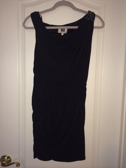 Laundry by Shelli Segal Black With Embellishments Design Little S Dress - 77% Off Retail hot sale