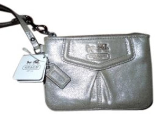 Preload https://item1.tradesy.com/images/coach-madison-shimmer-leather-wristlet-37585-0-0.jpg?width=440&height=440