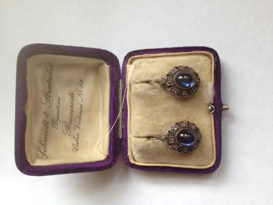 Other vintage sapphires and diamond earrings