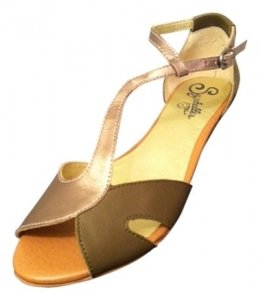 Seychelles Olive / Gold Sandals