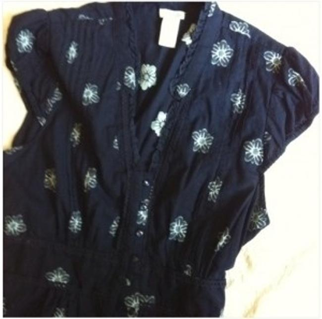 Anthropologie Top Dark blue