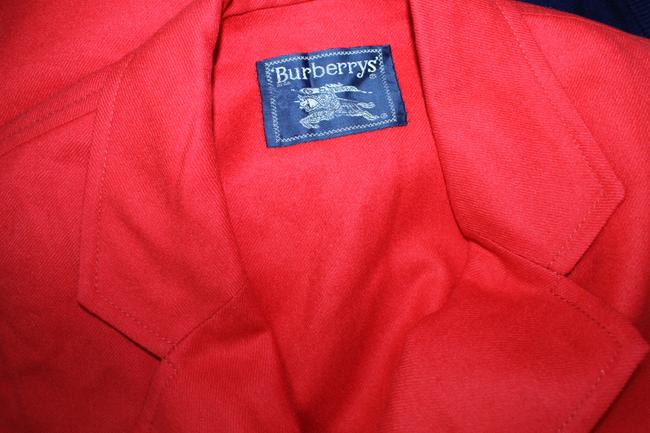 Burberry Double Breasted Wool RED Jacket