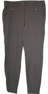 Dolce&Gabbana Dolce & Gabbana Stretch 44 Skinny Pants DARK BROWN