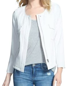 Sanctuary Clothing Recruit Spring White Jacket