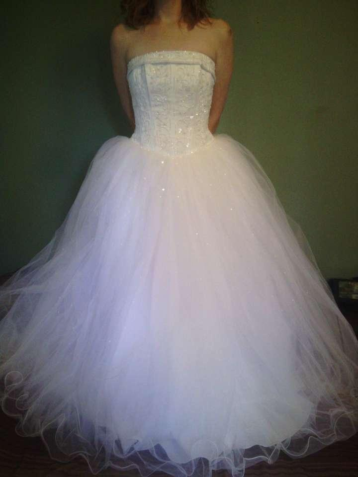 david 39 s bridal princess ball gown wedding dress tradesy