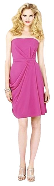 Dessy Knee-length Strapless New With Tags Dress