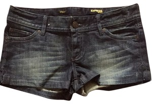 Express Shorts Blue Denim