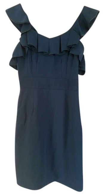 Preload https://item5.tradesy.com/images/esley-teal-flirty-ruffle-pleated-fitted-above-knee-night-out-dress-size-4-s-376129-0-0.jpg?width=400&height=650