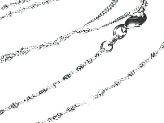 "Other 925 stamped Sterling Silver ""Wave Link"" Chain"