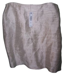 Ellen Tracy by Linda A;;ard Skirt Taupe