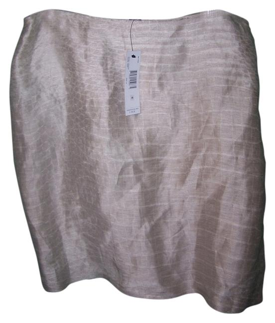 Ellen Tracy Skirt Beige
