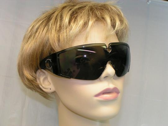Roberto Cavalli MOD JC085S GREY CRYSTAL FRAME T42 SHIELD SUNGLASSES ITALY