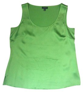 Talbots Top Bright Green