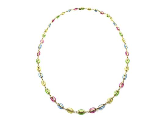 Chanel Chanel Vintage Poured Glass Necklace