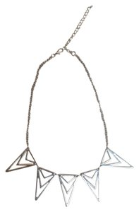 Nordstrom Silver Point Necklace